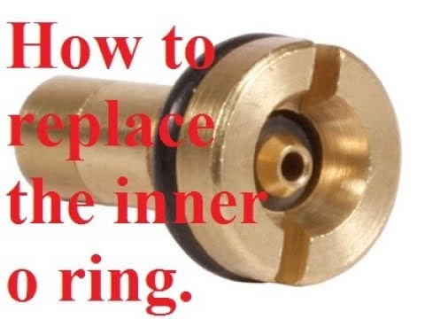 How to replace the inner valve o ring for airsoft gas magazine valves