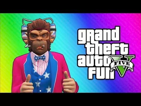 GTA 5 Online Funny Moments - Independence Day DLC, Roller Coaster, Fireworks, Liberator Truck!