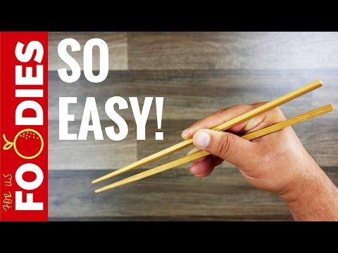 How To Use Chopsticks - In About A Minute 🍜