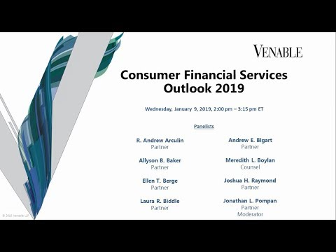 Consumer Financial Services Outlook 2019