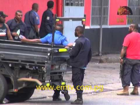 Parkop on PNGDF, police stand-off