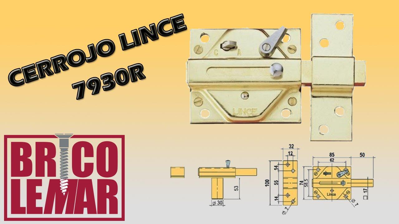 Cerrojo lince 7930r unboxing youtube for Cerrojo antibumping lince 7930r