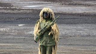 【陸上自衛隊の狙撃手】対人狙撃銃 500m 長距離狙撃 Remington M24 Sniper Weapon System JGSDF thumbnail