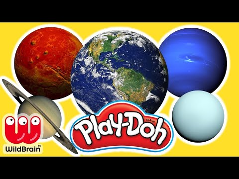 Make Your Own Play Doh Planets 🌎 Play Doh Videos Compilation 🌖 Solar System Kids 🎨 Crafty Kids