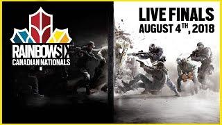 Rainbow Six Siege: LIVESTREAM Canadian Nationals Online Circuit   LIVE Finals   Rainbow Six Esports