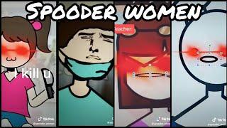 Spooder Woman | TikTok Compilation from @spooder_woman