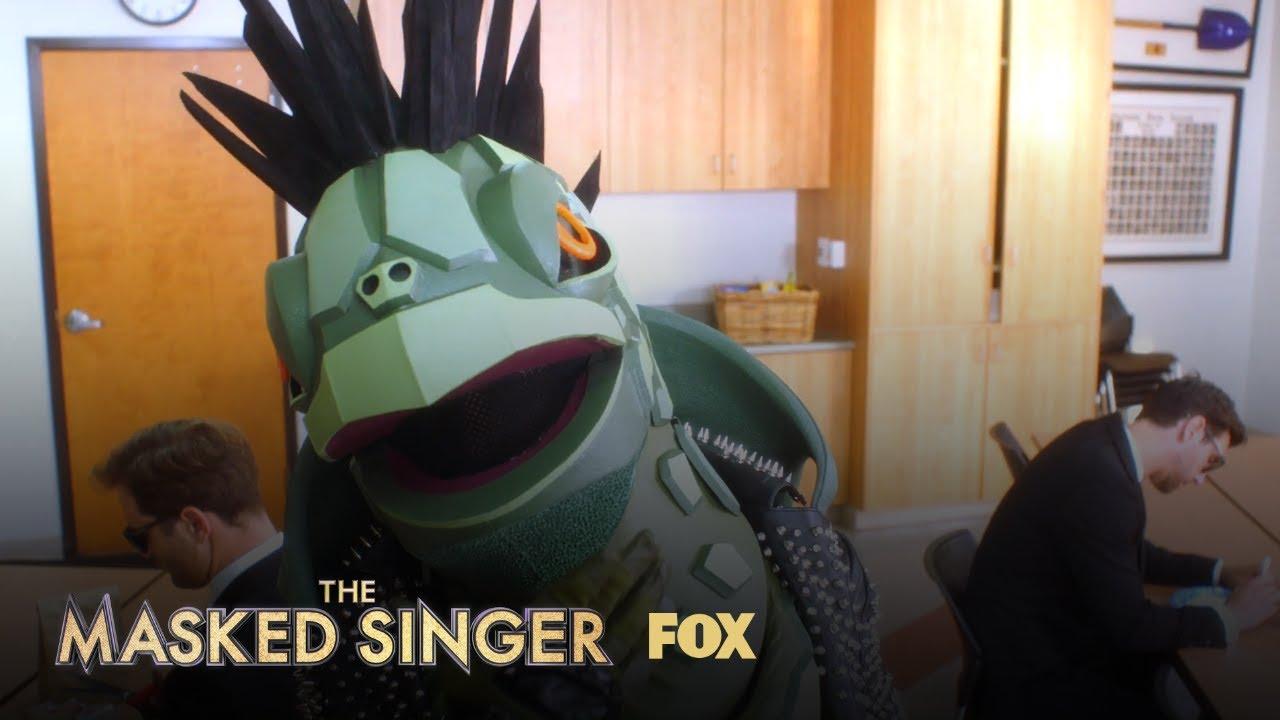 Image result for turtle masked singer school