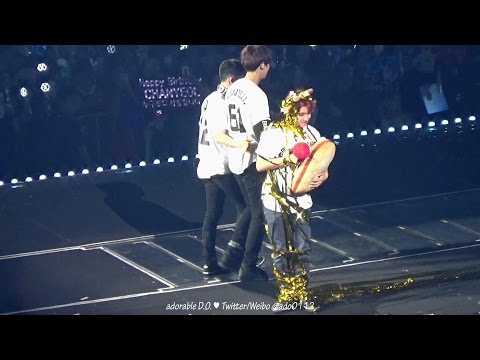 161127 Ending Talk + Angel (D.O. 디오 focus with Chanyeol 찬열) @ EXO'rdium in Taipei