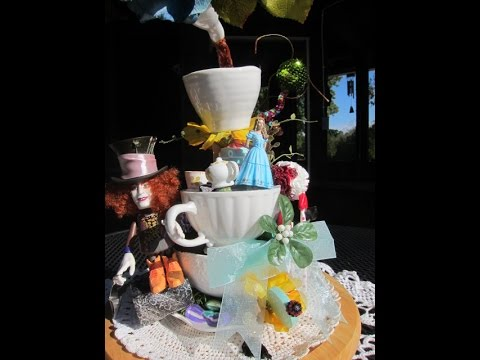 Alice in Wonderland Floating Tea Party art expression part 2