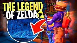 Zelda Fortnite, la meilleure map Escape/Aventure sur Fortnite Créatif avec Doc Jazy !