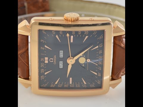 """Omega Cosmic """"The Museum Collection 1951"""" In Gold"""