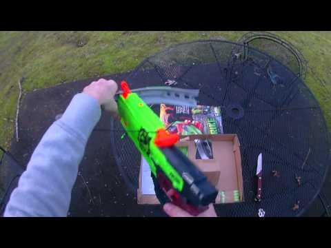 Review: The NEW (2014) Nerf Zombie Strike Crossfire Bow (Unboxing Too!)