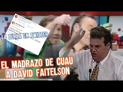 El dia que Cuauhtémoc le pego a David Faitelson y las burlas en twitter Boser Salseo