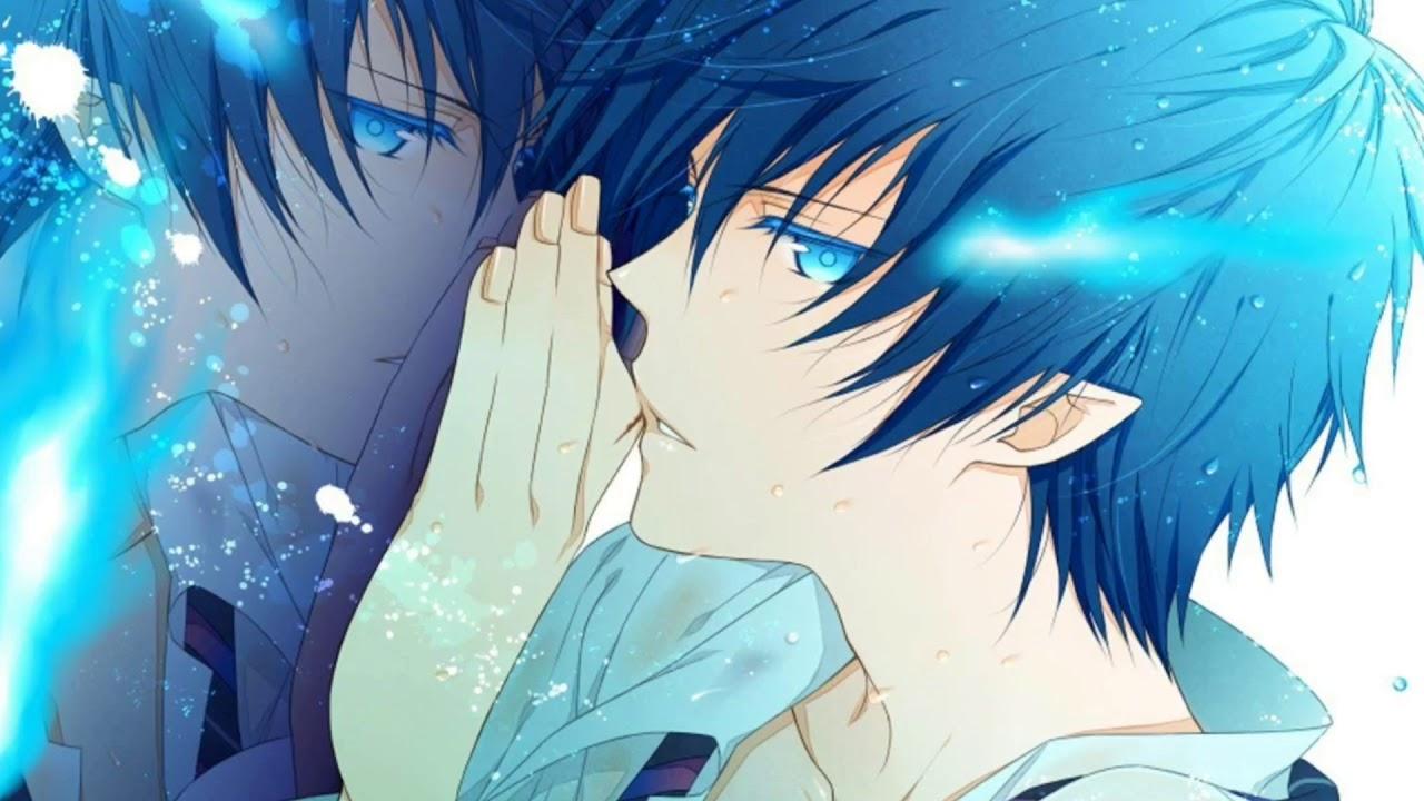 Nightcore favorite color is blue