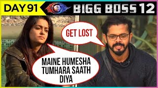 Dipika Kakar & Sreesanth SHOCKING FIGHT   Bigg Boss 12 Full Episode Update