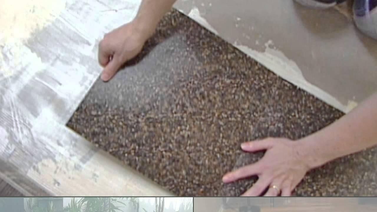 Terrazzo tile - YouTube
