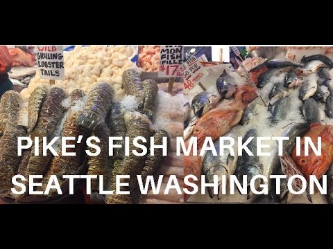PIKE PLACE FISH MARKET | SEATTLE, WASHINGTON