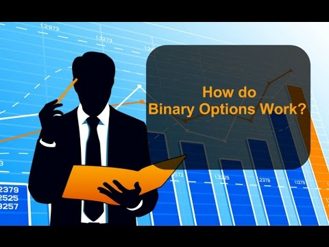 How does one touch binary options work