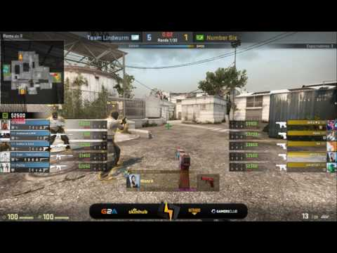 [ES] Team Lindwurm vs Number Six | Liga Femenina GC | Cache | BO1