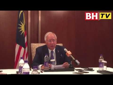 Sidang media PM Najib di Beijing