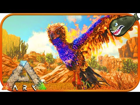 Ark: Survival Evolved | Scorched Earth Phoenix, Coolest Looking Terrible Tame (Ark News & Updates)