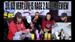 LIL UZI VERT - LUV IS RAGE 2 (FULL ALBUM) REACTION/REVIEW