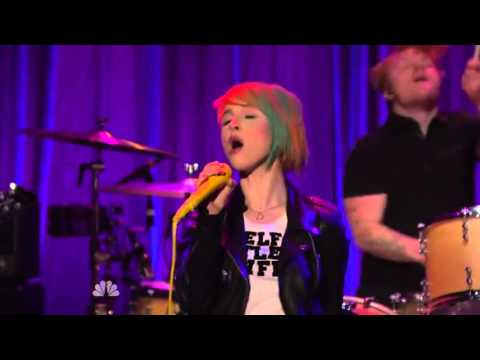 Paramore  Aint It Fun  at Late Night with Seth Meyers