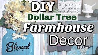 DIY Dollar Tree Home Decor | Dollar Tree Farmhouse DIY Decor | Krafts by Katelyn