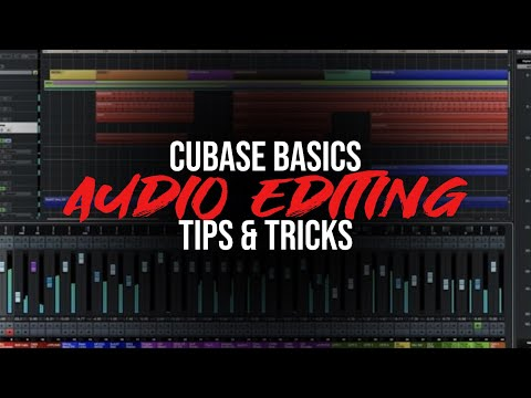 Cubase Series 03 – Audio Editing Tricks