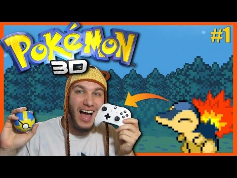 Amazing Pokemon 3D Game on Xbox One Controller! Pokemon 3D #1