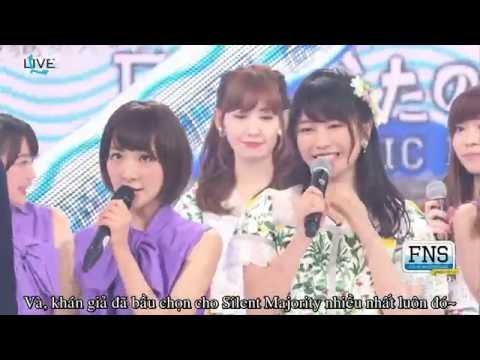 [Vietsub]160718 46&48 Dream Team - Silent Majority In FNS Uta No Natsu Matsuri
