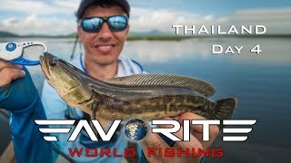 Favorite World Fishing. Таиланд, день 4. Рыбалка на змееголова.