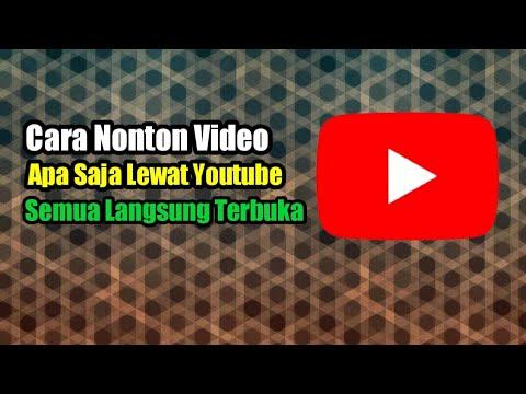 Cara nonton film D3W454 di youtube luar negeri
