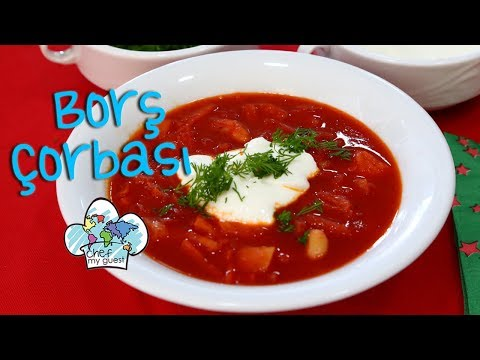 Vegetarian Borscht Soup | Ukrainian Recipe