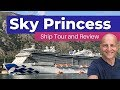 Sky Princess Cruise Ship Tour. And Need-to-Knows Before Cruising
