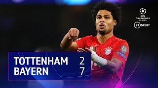 Tottenham Hotspur vs Bayern Munich (2-7) | UEFA Champions League Highlights