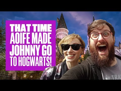 Aoife Made Johnny Go To Hogwarts - Universal Studios Vlog