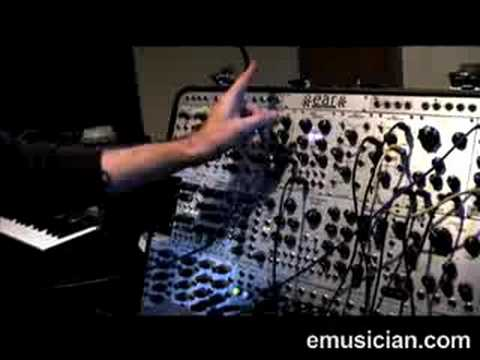 Alessandro Cortini and the EAR Synthesizer