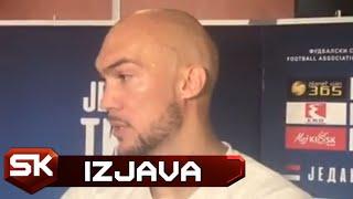 Marko Dmitrović Pred Meč Lige Nacija Litvanija - Srbija | SPORT KLUB Fudbal
