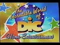 The Incredible World of DIC Home Entertainment 2003 Company Logo VHS Capture