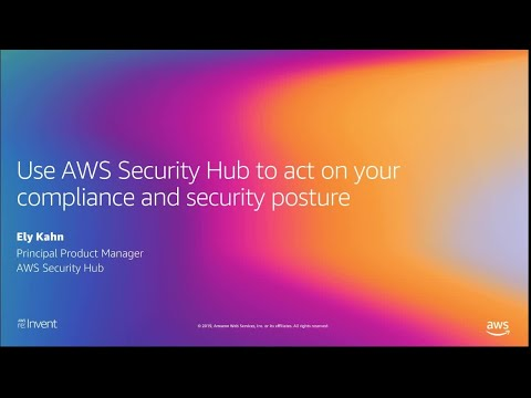 AWS re:Invent 2019: Monitor security & automate compliance checks with AWS Security Hub (DEM157)