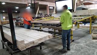 High speed manual lumber stacking -The Retro C by Enventek