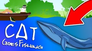 CATCHING A WHALE?!? (JeromeASF) | Cat Goes Fishing