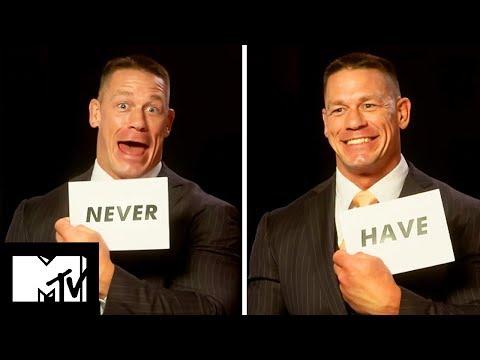 John Cena Plays Never Have I Ever!  MTV Movies