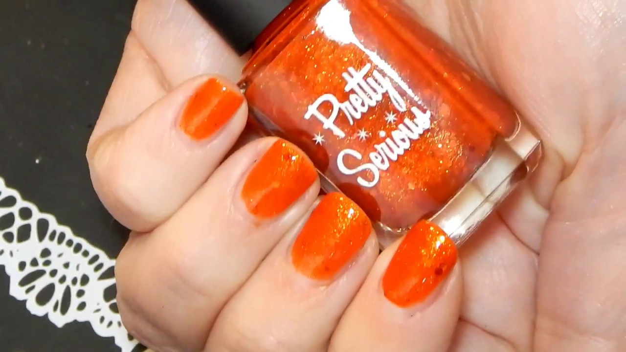 Fall Nail polish Picks for 2017 Nude, Gold, Orange ~ Live Swatches ...