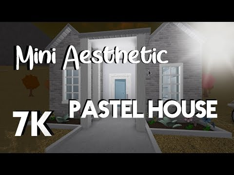 ROBLOX | Welcome to Bloxburg: Mini Aesthetic Pastel House