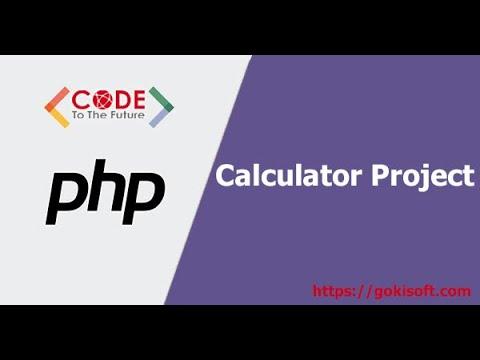 [khóa học lập trình PHP] Hướng dẫn tạo dự án calculator bằng PHP + JS