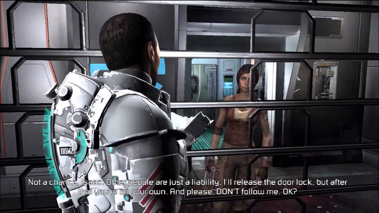 Dead space downfall bed clip youtube