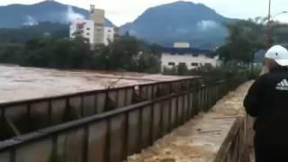 Enchente Jaraguá do Sul - junho de 2014