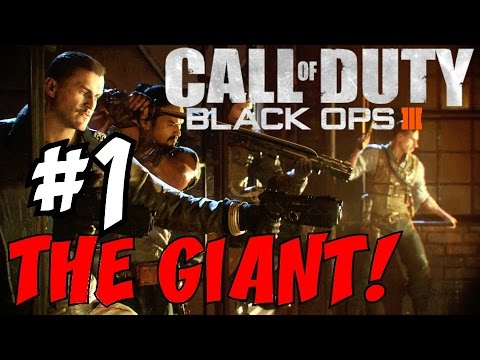 Black Ops 3 ZOMBIES GAMEPLAY - 'THE GIANT' ZOMBIES ...